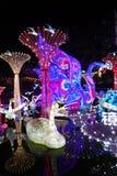 Linterna del cisne en el ¼ Œ China de Zigongï Fotos de archivo