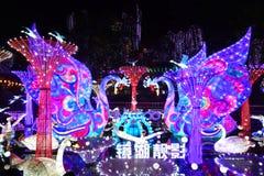 Linterna del cisne en el ¼ Œ China de Zigongï Fotografía de archivo libre de regalías