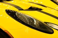 Linterna del coche Imagenes de archivo