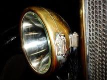 Linterna del coche del vintage Imagen de archivo