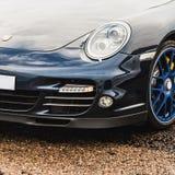 Linterna del coche deportivo Imagen de archivo