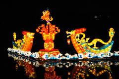 Linterna del dragón Foto de archivo libre de regalías