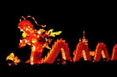 Linterna del dragón Imágenes de archivo libres de regalías