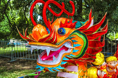 Linterna del dragón Imagen de archivo libre de regalías