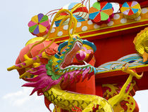 Linterna del dragón del chino tradicional Imagen de archivo