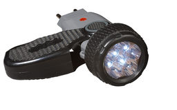 Linterna del LED. Fotografía de archivo