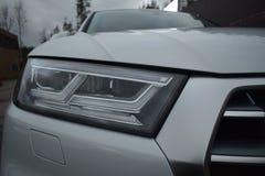 Linterna del nuevo audi auto del coche imágenes de archivo libres de regalías