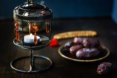 Linterna del Ramadán del vintage para la abertura iftar