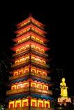 Linterna del templo de Yangzhou DA Ming Foto de archivo libre de regalías