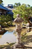 Linterna en el templo de Kodaiji, Kyoto, Japón Fotos de archivo