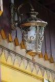 Linterna en estilo del vintage Imagenes de archivo