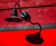 Linterna en la pared Fotografía de archivo