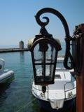 Linterna en la 'promenade' Foto de archivo libre de regalías