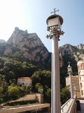 Linterna en Montserrat Foto de archivo libre de regalías