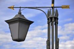 Linterna-flecha Foto de archivo libre de regalías