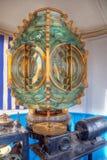 Linterna hermosa en el faro de Sousse Imagen de archivo libre de regalías