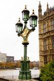 Linterna inglesa Fotos de archivo libres de regalías