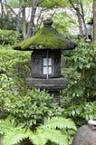 Linterna japonesa en casa de té de Tokio Fotografía de archivo