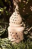 Linterna marroquí del jardín Imágenes de archivo libres de regalías