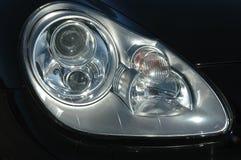 Linterna negra del coche Fotografía de archivo libre de regalías