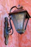 Linterna oxidada vieja Foto de archivo libre de regalías