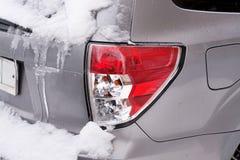Linterna posterior para la nieve y el hielo Imagen de archivo libre de regalías