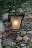 Linterna retra Fotografía de archivo