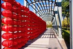 Linterna roja fotografía de archivo libre de regalías