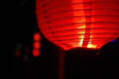 Linterna roja Fotos de archivo