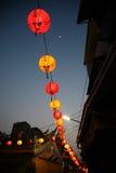 Linterna roja Imagen de archivo libre de regalías