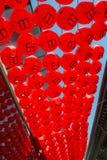 Linterna roja Fotos de archivo libres de regalías