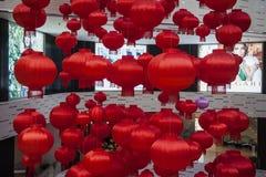 Linterna roja Imagenes de archivo