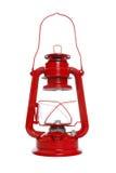 Linterna roja aislada Fotos de archivo libres de regalías