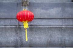 Linterna roja china para una celebración del Año Nuevo Foto de archivo libre de regalías