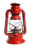 Linterna roja del ferrocarril Imagen de archivo