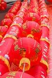 Linterna roja en Año Nuevo chino Fotografía de archivo libre de regalías