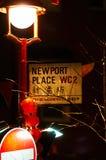 Linterna roja en el Año Nuevo chino de Chinatown Londres Imagen de archivo libre de regalías