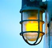 Linterna vieja de la nave Imagen de archivo libre de regalías