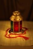 Linterna y rosario árabes Fotografía de archivo
