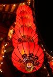 Linternas chinas fotos de archivo