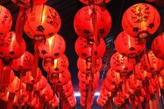 Linternas chinas imagen de archivo