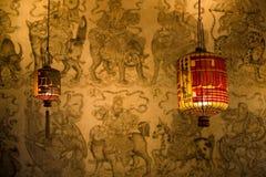 Linternas chinas Fotografía de archivo libre de regalías