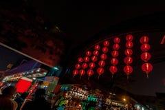 Linternas chinas, Año Nuevo chino Fotos de archivo