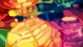 Linternas chinas coloridas Foto de archivo