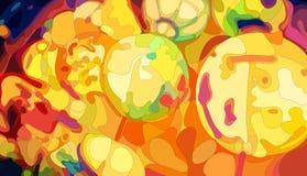 Linternas chinas coloridas Fotos de archivo