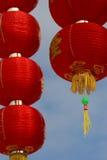 Linternas chinas del Año Nuevo Foto de archivo libre de regalías