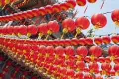 Linternas chinas del Año Nuevo Imagenes de archivo