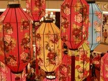 Linternas chinas del Año Nuevo Fotos de archivo libres de regalías