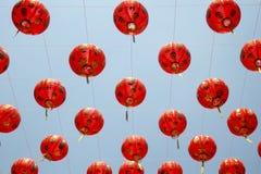 Linternas chinas en día de año nuevo Imagenes de archivo