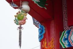 Linternas chinas en día de Años Nuevos chino Imagen de archivo